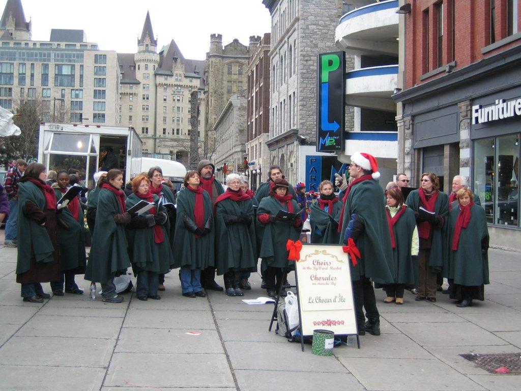 Chorale au marche By Ward.